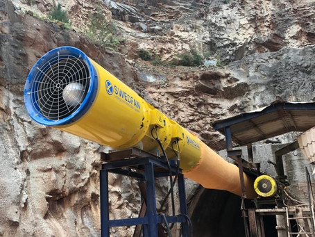 SWEDFAN delivering high quality Ventilation System to Cuba