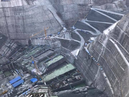 SWEDFAN DELIVERING FANS AND DUCTING TO THE BAIHETAN HEP PROJECT IN CHINA