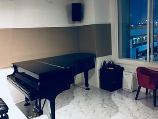 ピアノ・作曲レッスン開始