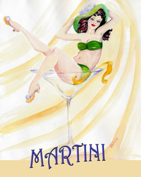 Olive is in my Martini