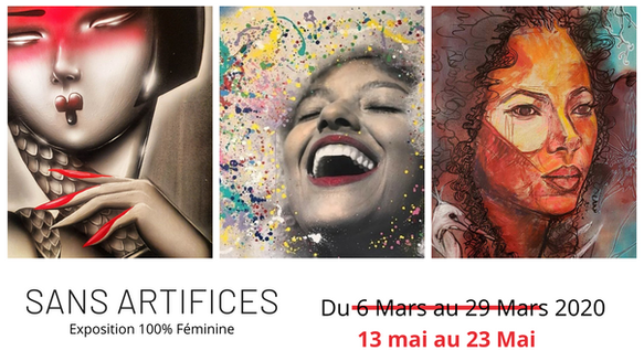 "Exposition : ""SANS ARTIFICES"" du 13 mai 23 mai"
