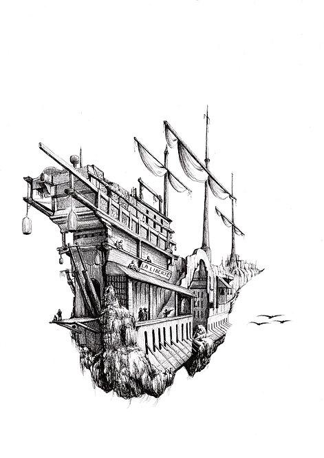 ELIPS - La libérté (Print)