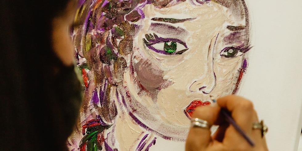 "Afterwork Drink and Paint : spécial ""Mardi Gras"""