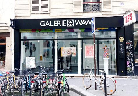 Devanture de la Galerie WAWI