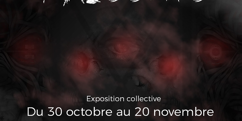 Vernissage exposition collective : FRISSONS