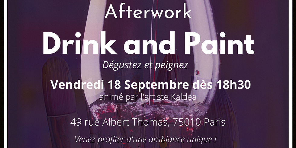 Afterwork : Drink and Paint