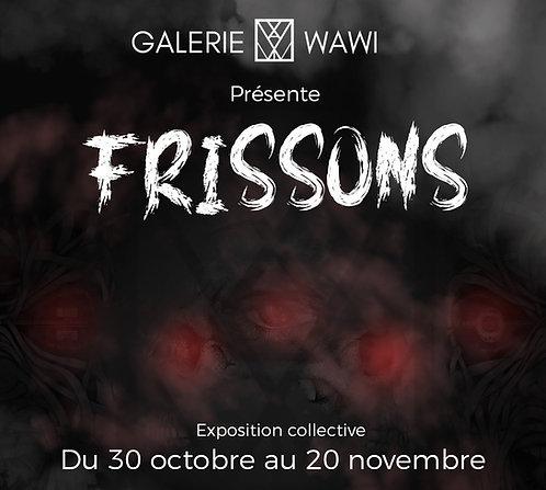 Catalogue d'exposition : Frissons