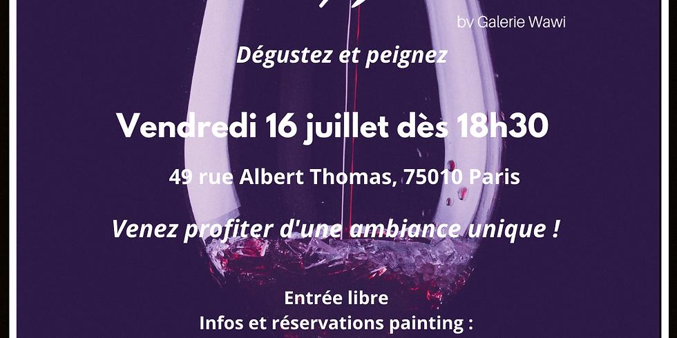 Afterwork Drink and Paint : nouvelle édition