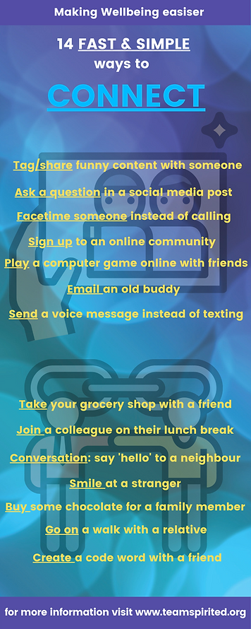 14 ways to connect