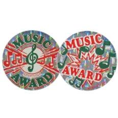 Music Award Stickers  (536)