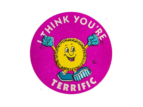 I think you're Terrific Stickers  (F14)