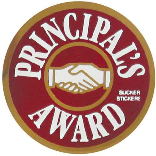 Principals Award Metallic Stickers  (576)