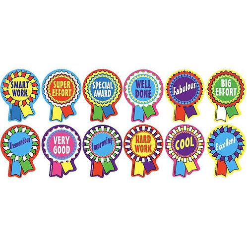 Prize Tag Metallic Multi Pack Stickers  (657)