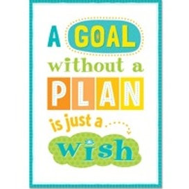 A Goal without a Plan is just a Wish Poster  (0319)
