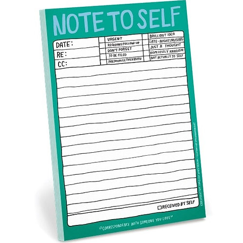 Note to Self Pad  (NTSP)