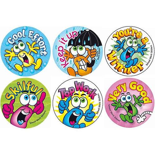 Cool Effort Multi Pack Stickers  (375)