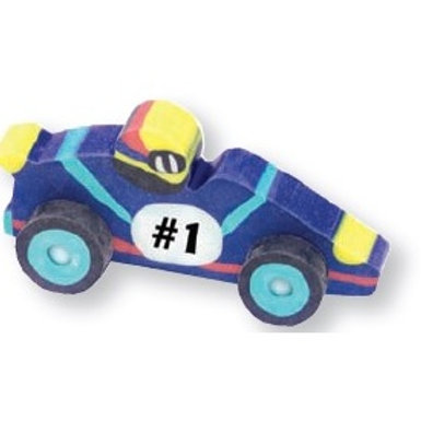 3D Race Car Eraser  (52940)