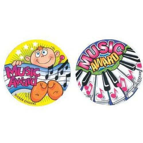 Music Award Multi Pack Stickers  (537)