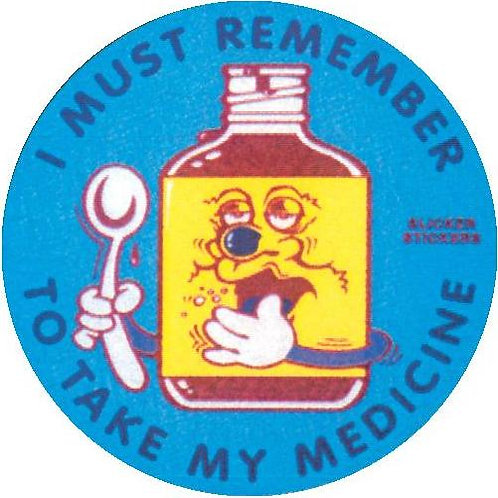 I must Remember to take my Medicine Stickers  (26)