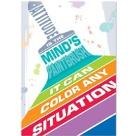 Attitude is the minds Paintbrush Poster  (0316)