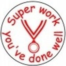 Super Work you've done well Stamp  (ST259)