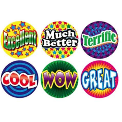 Cool/Excellent/Wow Multi Pack Stickers  (255)