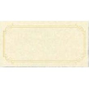Sheet of 3 Certificates Testa'mur with Gold Foil  (3225)