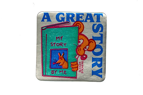 A Great Story Metallic Stickers  (521)