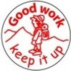 Good Work keep it up Stamp  (ST199)