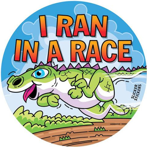 I ran in a Race Stickers  (217)
