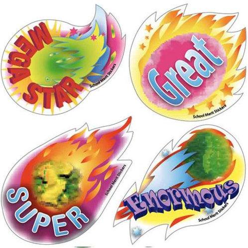 Meteoroid Multi Pack Stickers  (700)