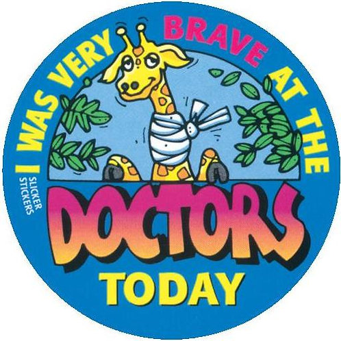 I was very Brave at the Doctors Today Stickers  (46)