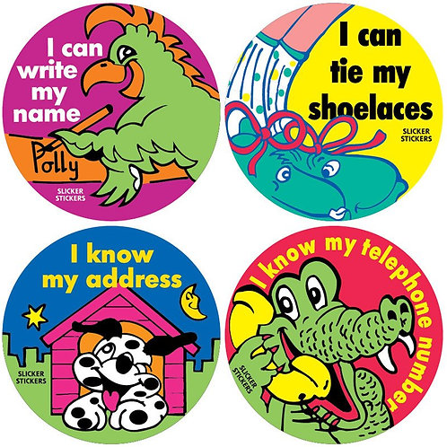 I can Achievement Stickers  (171)