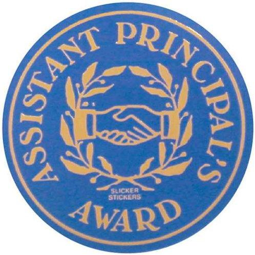 Assistant Principals Award Metallic Stickers  (587)