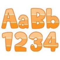 Orange Paint Chip Classroom Letters  (0281)
