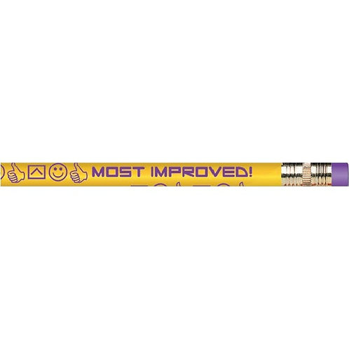 12pk Most Improved Pencils  (52234)