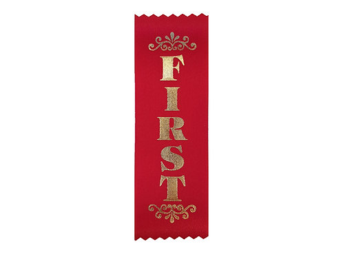 100pk First Satin Metallic Ribbon  (SR8)