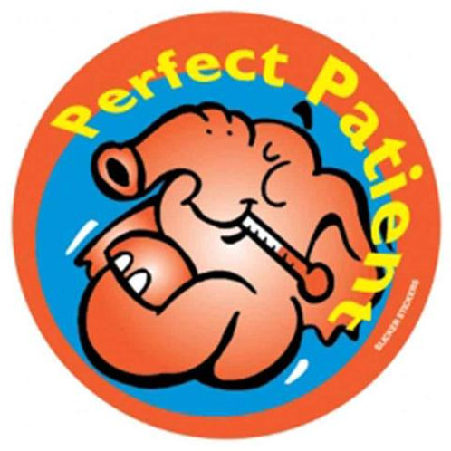 Perfect Patient Stickers  (61)