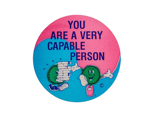You are a Very Capable Person Stickers  (F22)