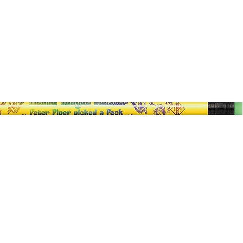 12pk Ticklin' Tongue Twister Pencils  (7751)