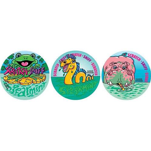 Scratch & Sniff Spearmint Multi Pack Stickers  (952)