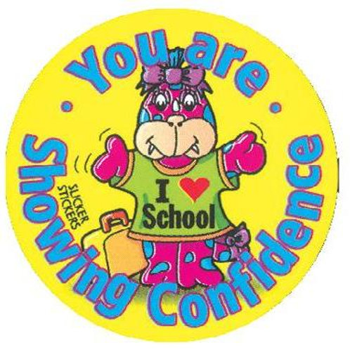 You are Showing Confidence Values Stickers  (173)