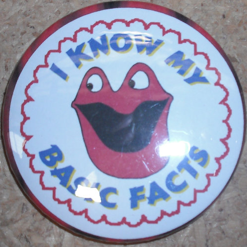 I Know my Basic Facts Badge (BA523)