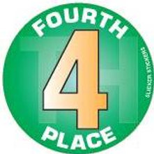 Fourth Place Stickers  (643)