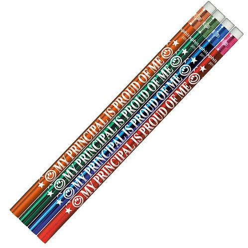 My Principal is Proud of Me Metallic Pencils  (5222)