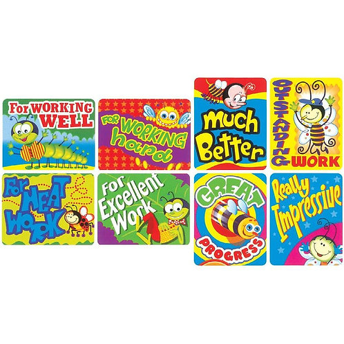 For Working Well Multi Pack Stickers  (366)