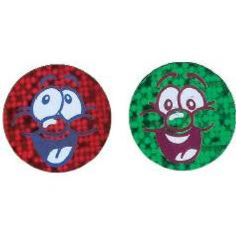 Smiley Face Metallic Multi Pack Stickers  (260)
