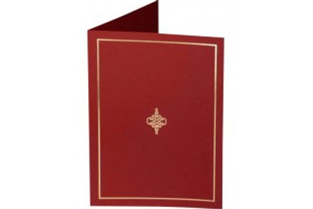 Maroon Presentation Covers with Gold Border  (PC03)