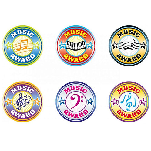 Music Award Stickers Multipack  (539)