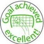Goal Achieved Excellent! Stamp  (ST166)
